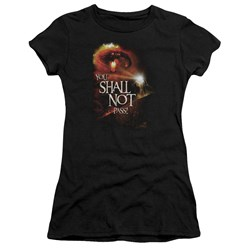 Lor - Juniors You Shall Not Pass Premium Bella T-Shirt