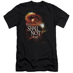Lor - Mens You Shall Not Pass Premium Slim Fit T-Shirt