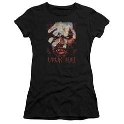 Lor - Juniors Uruk Hai Premium Bella T-Shirt