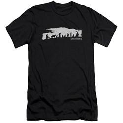 Lor - Mens The Fellowship Premium Slim Fit T-Shirt
