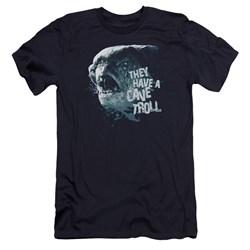 Lor - Mens Cave Troll Premium Slim Fit T-Shirt