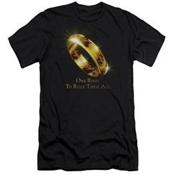 Lor - Mens One Ring Premium Slim Fit T-Shirt
