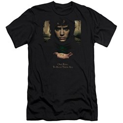 Lor - Mens Frodo One Ring Premium Slim Fit T-Shirt