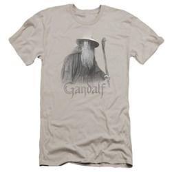 Lor - Mens Gandalf The Grey Premium Slim Fit T-Shirt