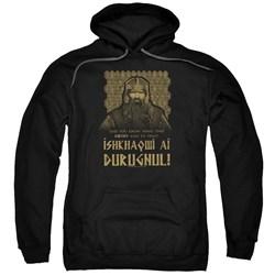 Lord Of The Rings - Mens Ishkhaqwi Durugnul Pullover Hoodie