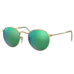 Ray-Ban RB3447 Mens Round Metal Sunglasses