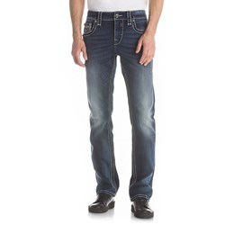 Rock Revival - Mens Goslar J404 Straight Jeans
