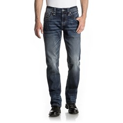 Rock Revival - Mens Palfrey J201 Straight Jeans