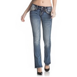 Rock Revival - Womens Akia B202 Boot Cut Jeans