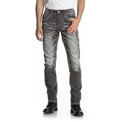 Rock Revival - Mens Telfer A201 Alternative Straight Jeans