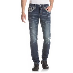 Rock Revival - Mens Saif A203 Alternative Straight Jeans