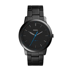 Fossil The Minimalist Slim Three-Hand Black Stainless Steel Watch - FS5308