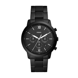 Fossil Neutra Chronograph Black Stainless Steel Watch - FS5474