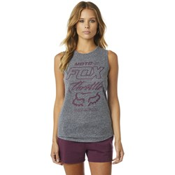 Fox - Junior's Throttle Maniac Muscle Tank Top