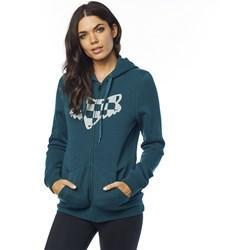 Fox - Women's Check Head Zip Fleece