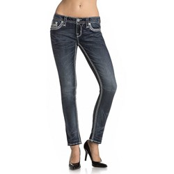 Rock Revival - Womens Pilar S201 Skinny Jeans