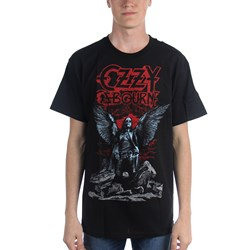 Ozzy Osborne Angel Wings Mens T-Shirt