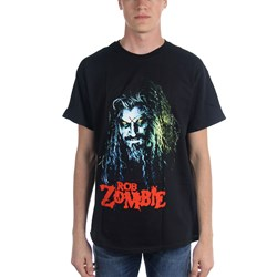 Rob Zombie Hell Billy Head Mens T-Shirt
