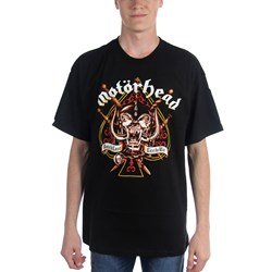 Motorhead Sword Spade Clean Mens T-Shirt