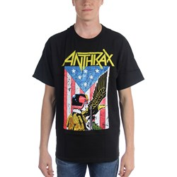 Anthrax Dredd Eagle Mens T-Shirt