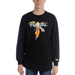Primitive - Mens Nuevo Goku Saiyan Long Sleeve T-Shirt