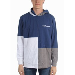The Hundreds - Mens Abstract Hooded Long Sleeve T-Shirt