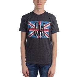 The Who - Mens Union Jack Logo T-Shirt