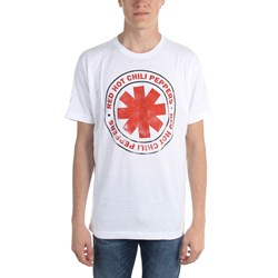Red Hot Chili Peppers - Mens Distressed Outlined Logo Lightweight T-Shirt