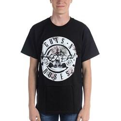Guns N Roses - Mens Floral Fill Bullet T-Shirt