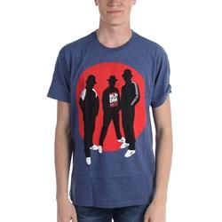 Run Dmc - Mens Silhouette Circle T-Shirt