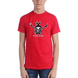 Puscifer - Utensil Man Mens T-Shirt In Chili Red