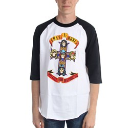 Guns N Roses - Mens Appetite For Destruction Raglan