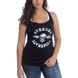 Avenged Sevenfold Skull Logo Junior's Racerback Tank