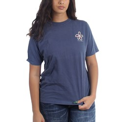 Stussy - Womens Old Flower Pig. Dyed T-Shirt