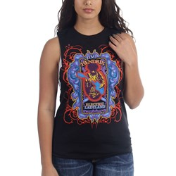 Jimi Hendrix - Womens Electric Ladyland Jr Tank Top