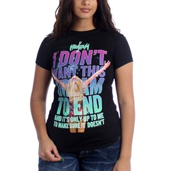 Ke$Ha Don't Want Dream To End Junior's T-Shirt