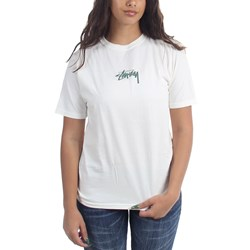 Stussy Womens Stock Pigment Dyed T-Shirt
