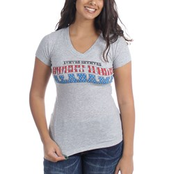 Lynyrd Skynyrd Sweet Home Alabama Junior's V-Neck T-Shirt