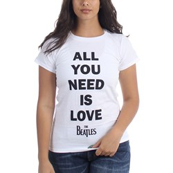 The Beatles - Womens All You Need Is Love T-Shirt