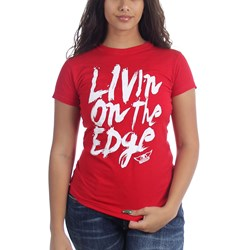 Aerosmith Livin' On The Edge Junior's T-Shirt