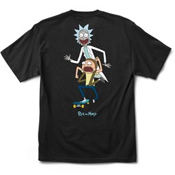 Primitive - Mens Classic P Rick And Morty Skate T-Shirt