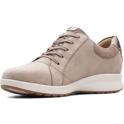 Clarks - Womens Un Adorn Lace Leather Sneaker