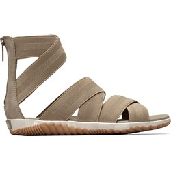 Sorel - Women's Out N About Plus Strap - Nubuck Sandals