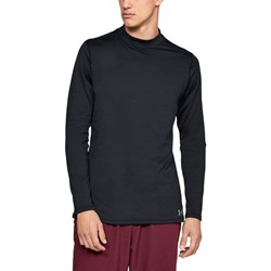 Under Armour - Mens CG Armour Mock Fitted Long-Sleeves T-Shirt