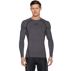 Under Armour - Mens Men's UA HeatGear Armour Long Sleeve Compression Shirt Long-Sleeves T-Shirt