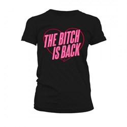 Elton John - Mens The Bitch Is Back Heart T-Shirt