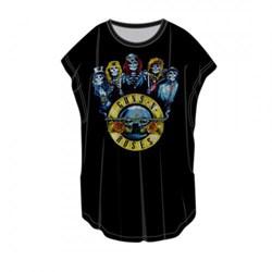 Guns N Roses - Womens Band Bullet T-Shirt