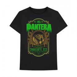 Pantera - Mens Snakebite Xxx Label T-Shirt