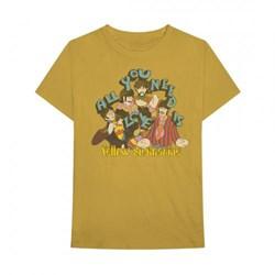 Beatles, The - Mens Yellow Sub Vintage T-Shirt