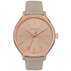 Nixon - Women's Clique Leather Analog Watch